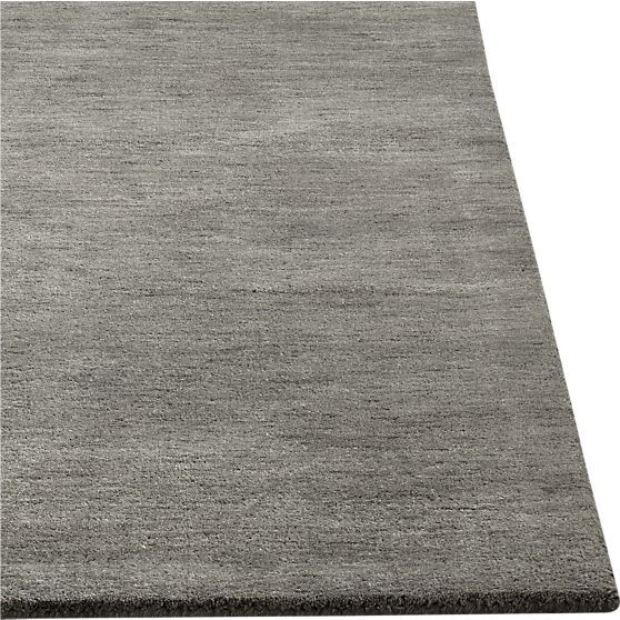 Baxter Grey Rug In Area Rugs | Crate And Barrel $599