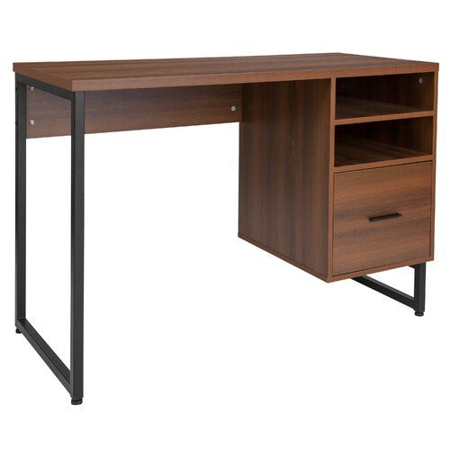 Peachy Emelina 1 Drawer Credenza Desk In 2019 Ryans Room Wood Complete Home Design Collection Papxelindsey Bellcom