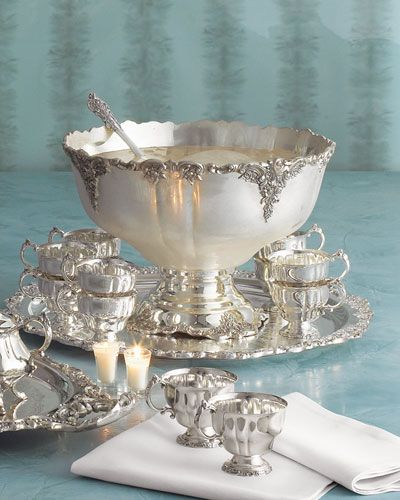 126 best vintage punch bowls images on pinterest punch bowl set utensils and dinnerware. Black Bedroom Furniture Sets. Home Design Ideas