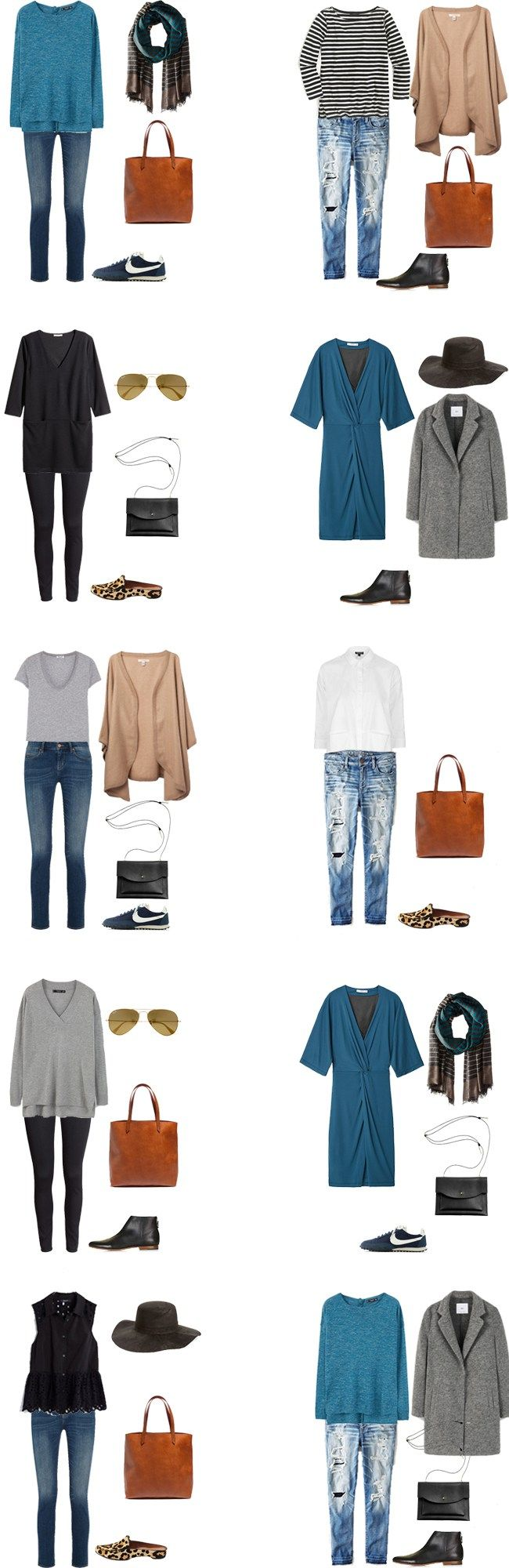 What to wear in Amsterdam Netherlands outfit options 1-10 #packinglight #travellight #traveltips #travel