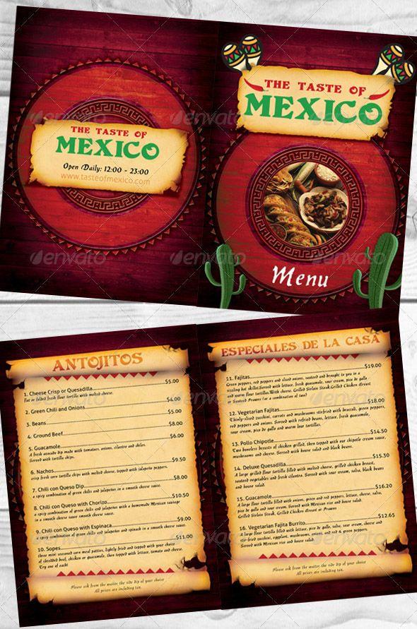 91 best food brochure images on Pinterest Food, Brochures and Cards - microsoft word restaurant menu template