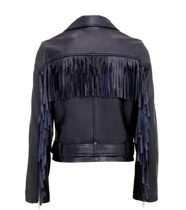 Biker jacket. May 2016