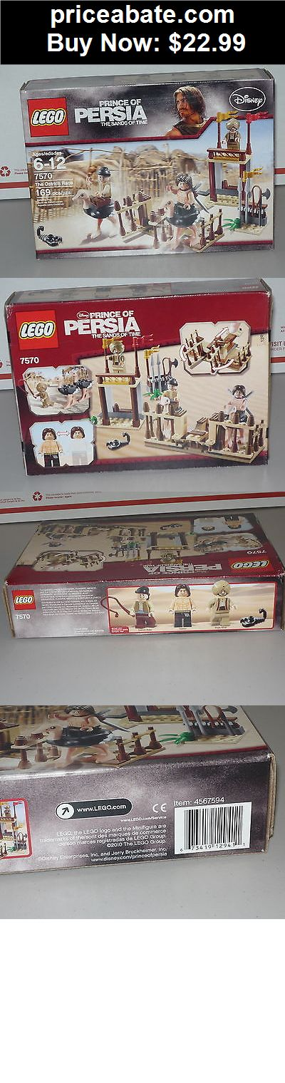 Toys: Lego Prince of Persia Ostrich Race 7570  NEW IN SEALED BOX - BUY IT NOW ONLY $22.99