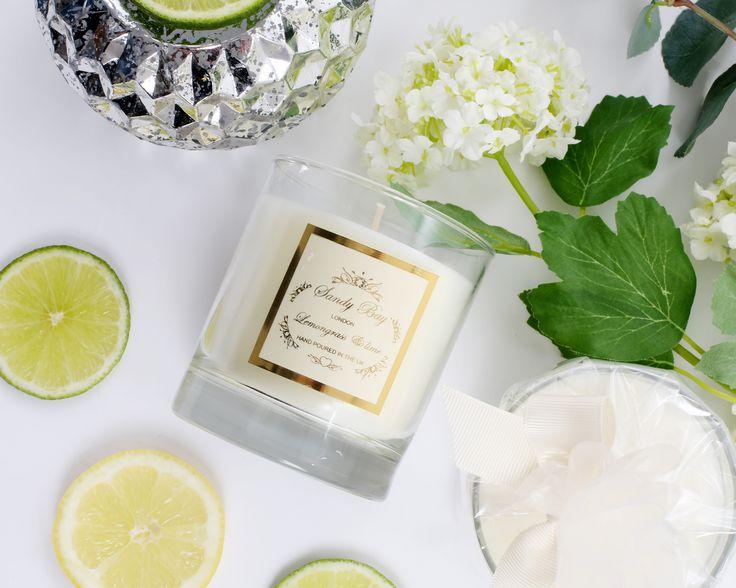 The Sublime Fragrance Lemongrass & Lime by Sandy Bay London www.sandybaylondon.com