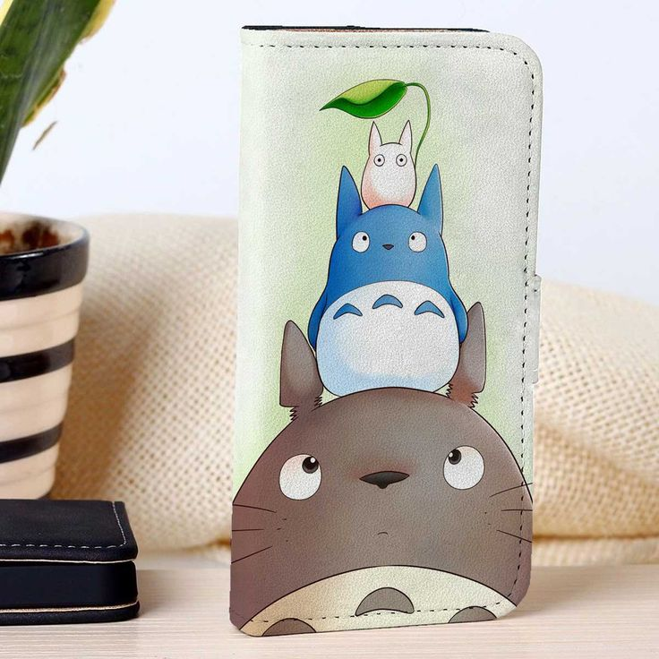 Totoro | Studio Gibli | custom wallet case for iphone 4/4s 5 5s 5c 6 6plus case and samsung galaxy s3 s4 s5 s6 case - RSBLVD
