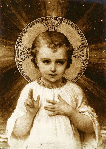 The Child Christ ~ Emile Munier This board is wonderful http://www.pinterest.com/drsnickey/my-lord-and-god/