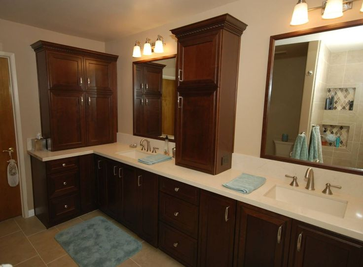 cherry bathroom cabinets 17 best images about beautiful bathrooms on 13484