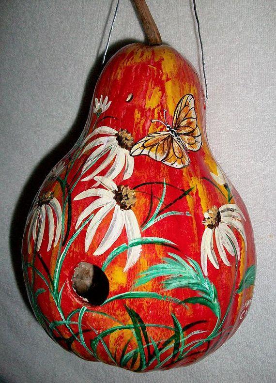 gourd birdhouse......