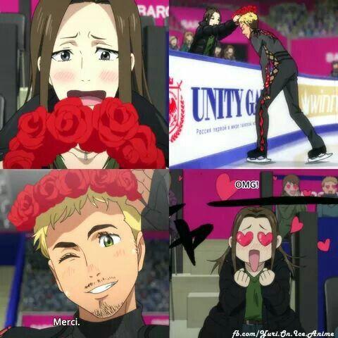 Yuri!!! On Ice | Minako Okukawa | Christophe Giacometti