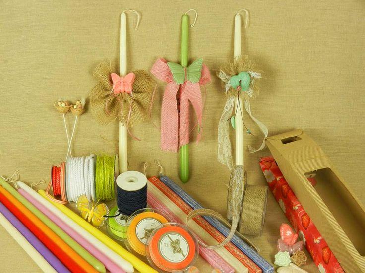 Βρες ιδέες και υλικά για να φτιάξεις λαμπάδες για το Πάσχα | lovelyhome.gr