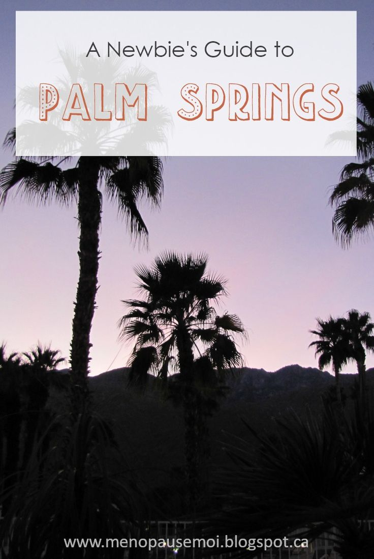 Some impressions and recommendations from our recent trip to Palm Springs
