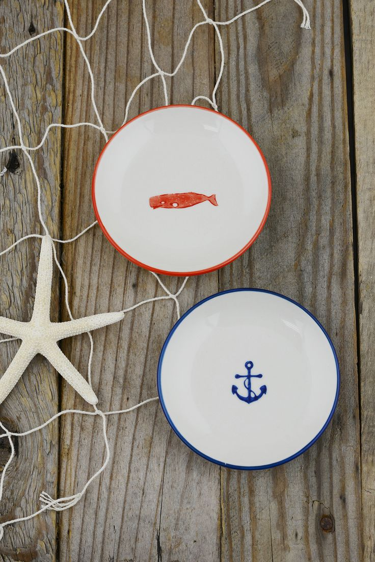 Nautical Dishes 4in
