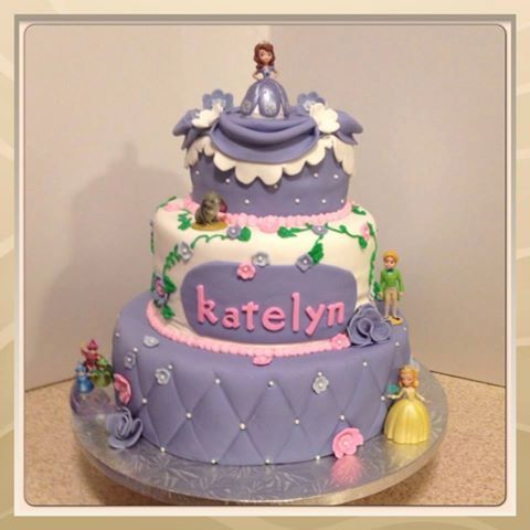 Sweet Sofia Cake Design Verona : Sofia the First theme cake by Sweet Treat Designs. 1 ...