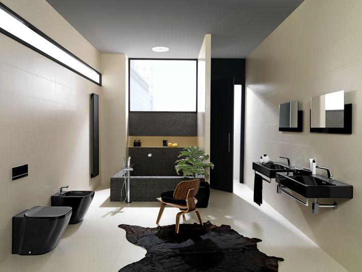 Vuelve el negro para los baños con la colección Essence-c de Noken | Porcelanosa blog