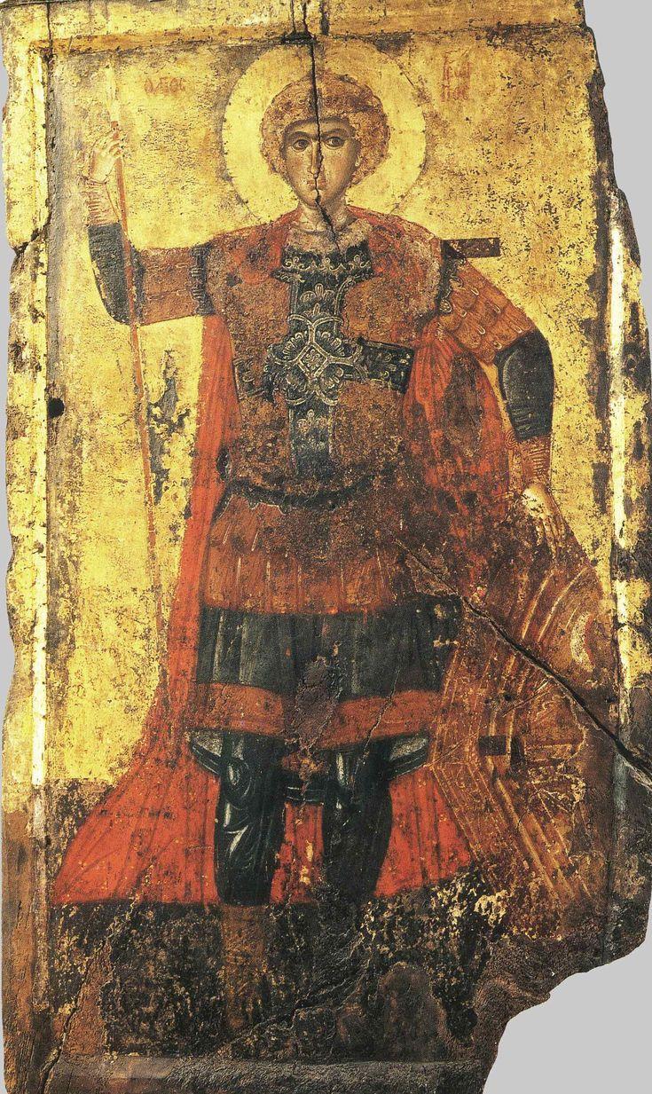 Георгий Победоносец, св. вмч.; XIII в.; Византия. - православные мастерские «Русская Икона»