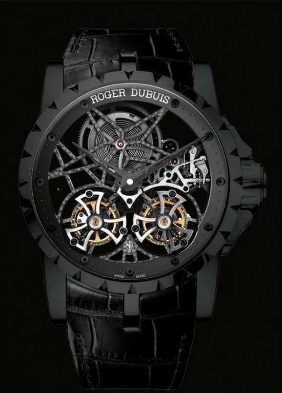 17 best ideas about awesome watches watches for men excalibur skeleton double flying tourbillon by roger dubuis · roger dubuisawesome watchesskeletonsmens