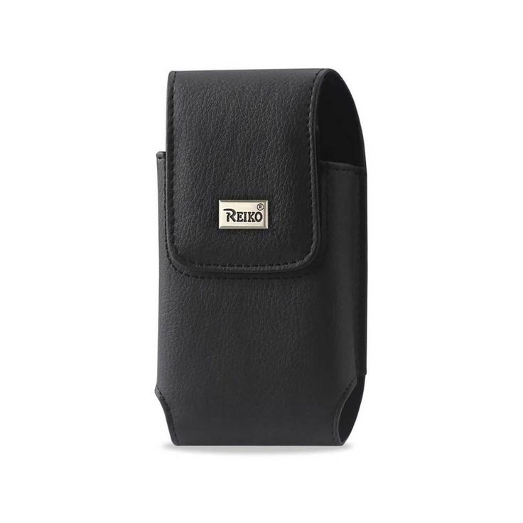 Reiko Vertical Pouch Motorola Droid X Mb810 Plus-Black With Belt Clip Inner Size-5.42X2.98X0.79Inch