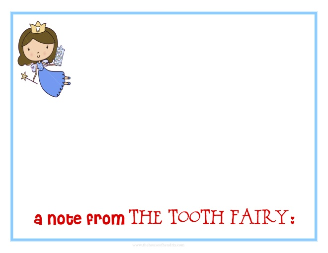 letter from the tooth fairy template - tooth fairy printables the o 39 jays teeth and note