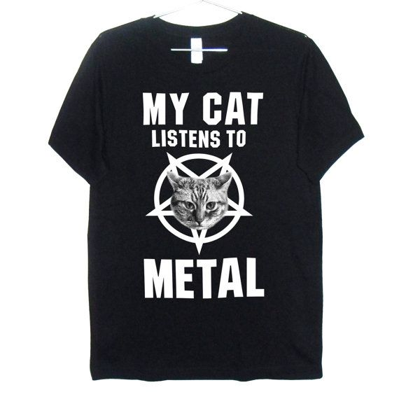 My Cat Listens to Metal