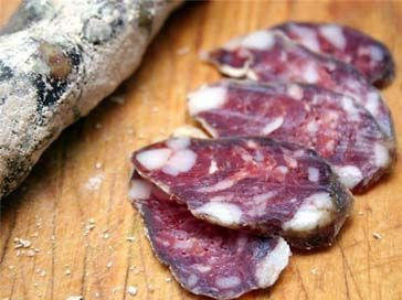 Сыровяленая колбаса свиная » Сушка пищевых продуктов