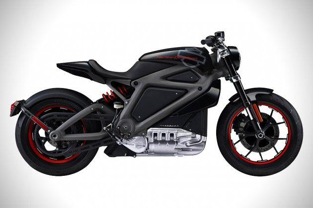 Harley Davidson Livewire Electric Motorcycle 1 630x420 Harley Davidson présente son concept de moto électrique « Project LiveWire »