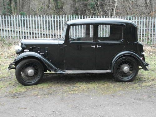 Extremely original 10HP Lichfield Saloon (1934) (picture 1 of 6)