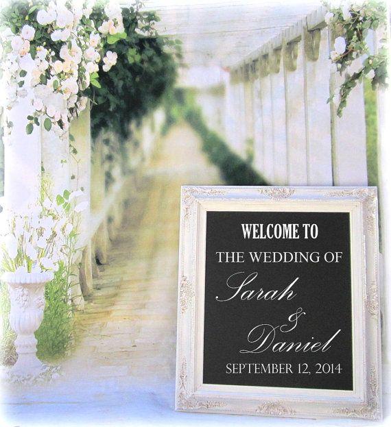 FANCY CHALKBOARDS For Sale Wedding Framed by RevivedVintage, $159.00
