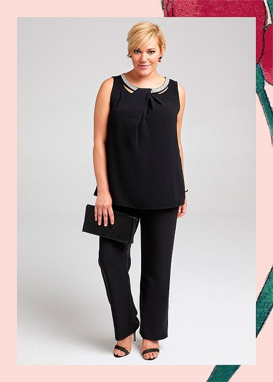 Tai Embellished Top #takingshape #plussize #curvy #eventwear #event #specialevent