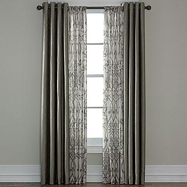 sheer panels royal velvet room curtains rods pocket sheer windows