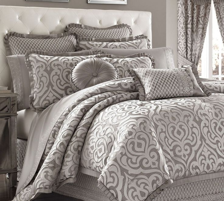 Silver Bedding Sets  http://www.snowbedding.com/ more at https://www.snowbedding.com/glossary/silver-bedding-sets/