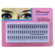 300 pcs Handmade natural long Individual eyelashes extension makeup popular eyelash implants cosmetic made in china //FREE Shipping Worldwide //