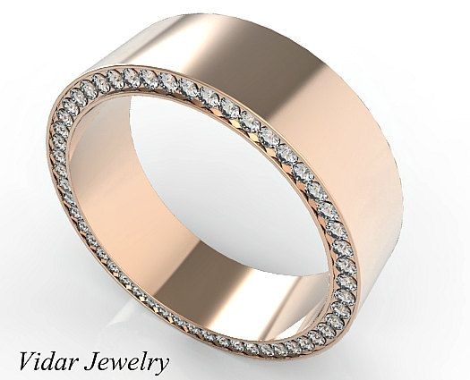 Guys wedding bands with diamonds