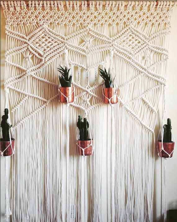 Macrame Wedding Backdrop Macrame Wall Hanging