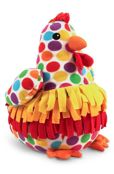 Melissa & Doug 'Beeposh -Dotty Chicken' Plush Toy