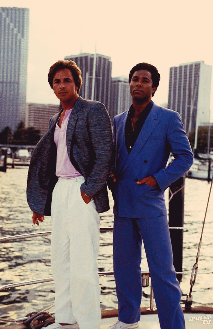 Miami Vice...what a show...changed the pop culture of America and the best Phil Collins music!