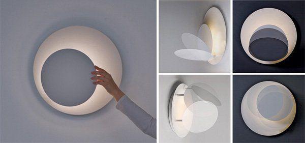 Дизайн лампы, вдохновленный затмением