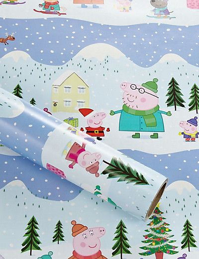 28 best christmas with peppa images on pinterest peppa pig 3m peppa pig roll wrapping paper home by marks spencer negle Gallery