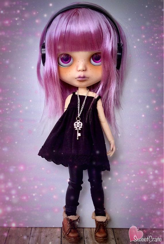 Lenore Custom Blythe Doll 77 by SweetCrate on Etsy