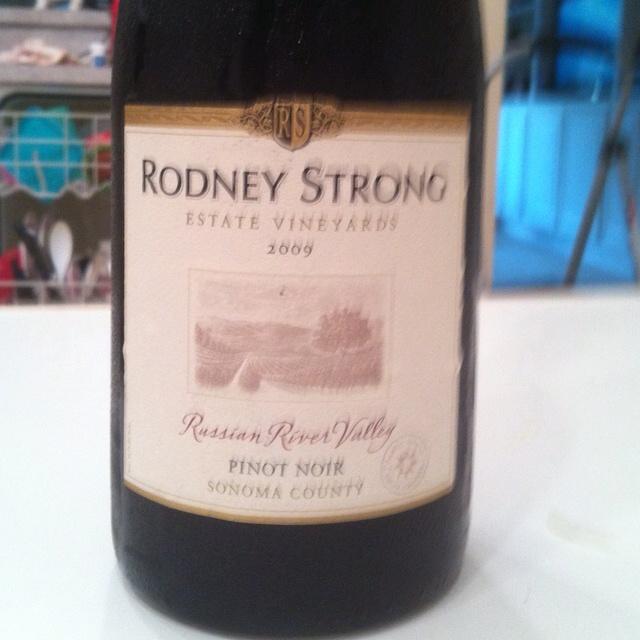 My favorite Pinot noir