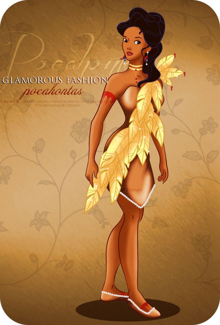 Glamorous Fashion - Pocahontas by ~selinmarsou on deviantART