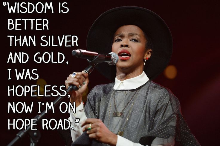 14 Lauryn Hill Lyrics That Will Inspire You To Think Differently