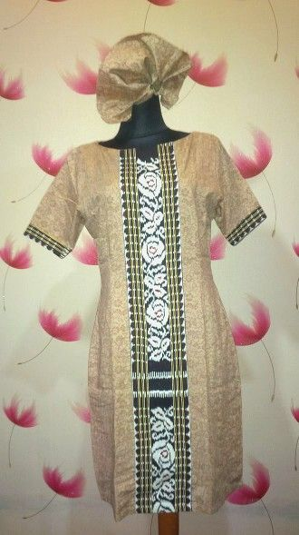 Batik Embos mix Tenun Rose Avail in size: L