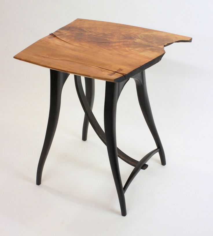 live edge side table 1