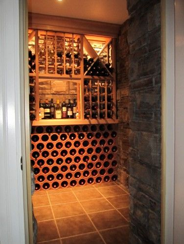 1000 ideas about small home bars on pinterest home bars for Small basement wine cellar