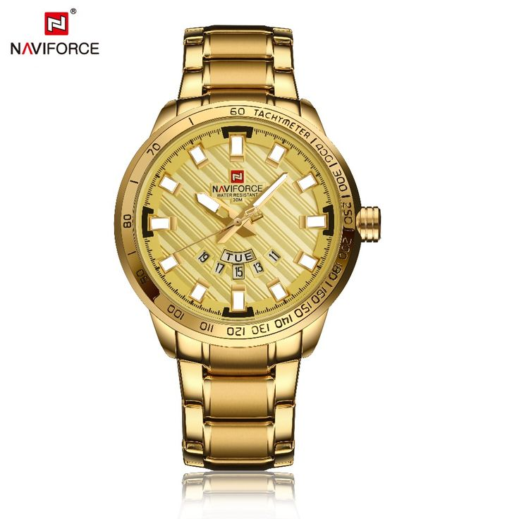 Naviforce Men's Watch Luxury Gold Stainless Steel Army Military Quartz Wristwatches relojes Clock Male Sports watch montre homme     Tag a friend who would love this!     FREE Shipping Worldwide     Get it here ---> https://shoppingafter.com/products/naviforce-mens-watch-luxury-gold-stainless-steel-army-military-quartz-wristwatches-relojes-clock-male-sports-watch-montre-homme/