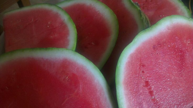 Watermelon - perfect pre-workout snack