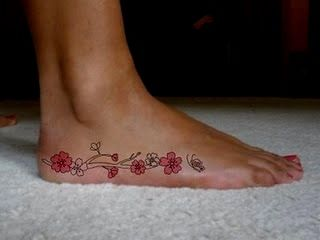 I'm thinking the turtle tattoo I get is going to be on the side instead of the top...since it will be easier to see in my flip flops :)