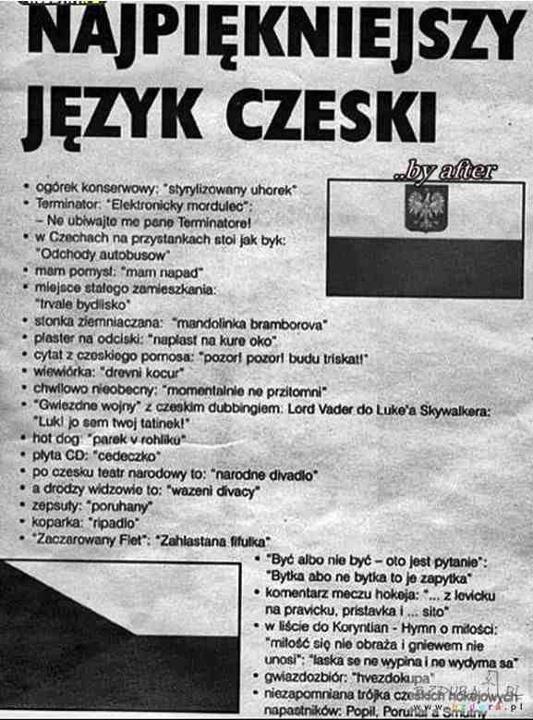 Nauka czeskiego