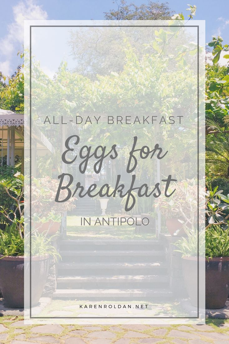 Cafe in Antipolo: Eggs for Breakfast Cafe