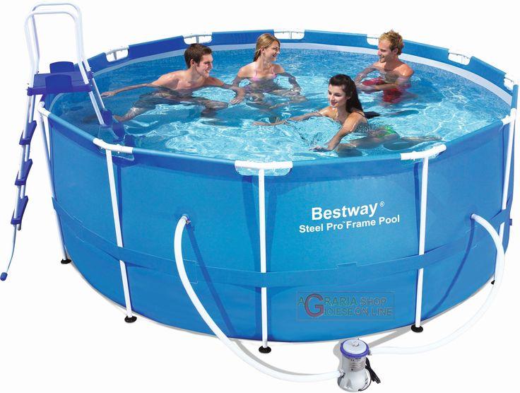 BESTWAY 56088 PISCINA AUTOPORTANTE CON TELAIO CM. 366x122h http://www.decariashop.it/piscine-con-telaio/1370-bestway-56088-piscina-autoportante-con-telaio-cm-366x122h.html